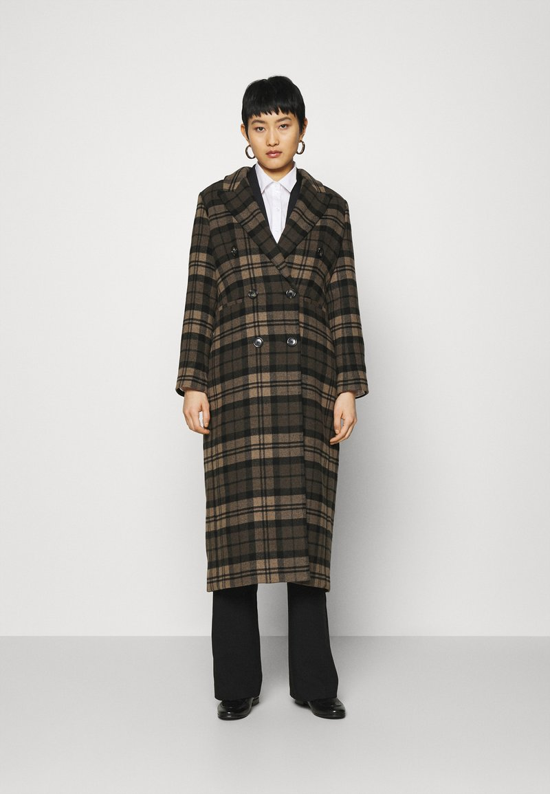 IVY & OAK - ALOA ALTEA - Cappotto classico - cedar wood/black