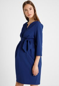 9Fashion - DAVEA DRESS  - Korte jurk - navy - 0