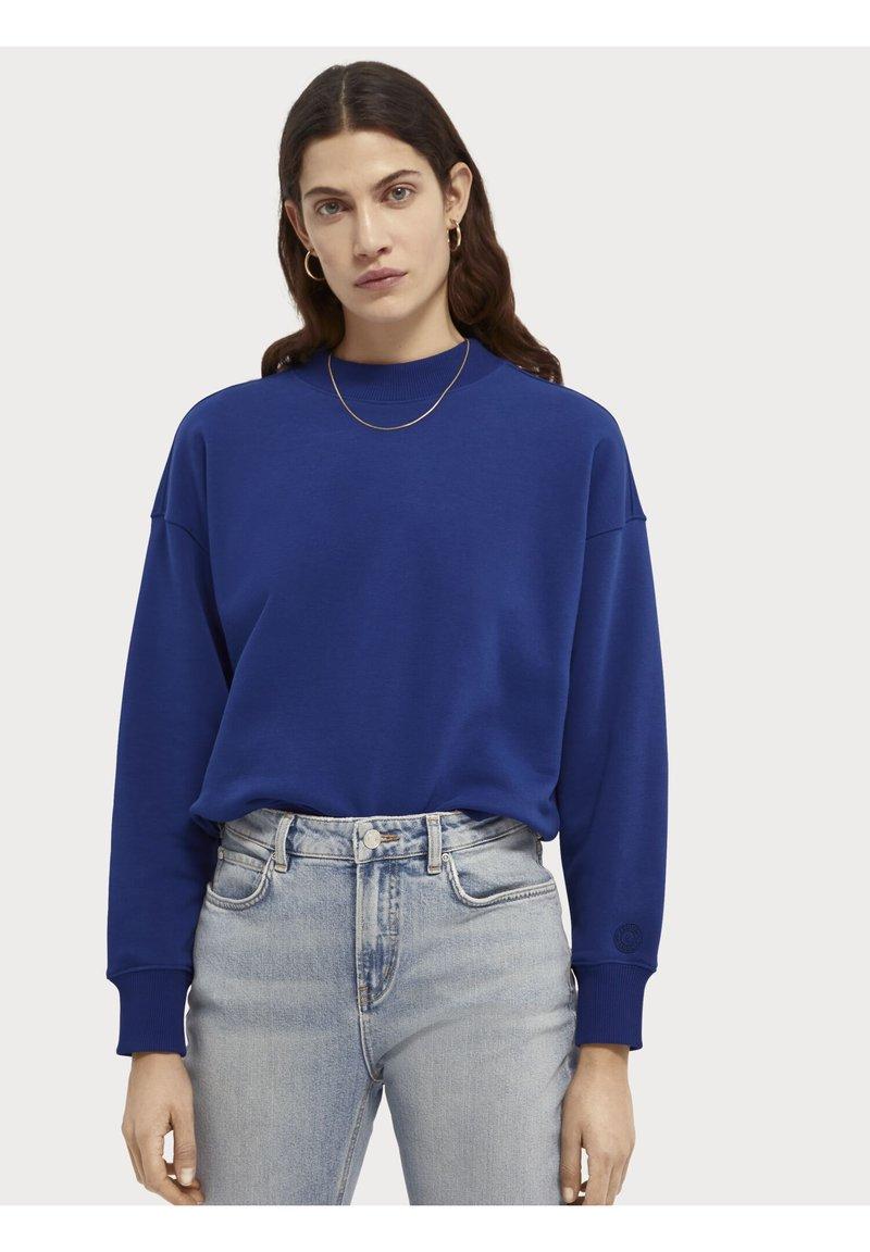 Scotch & Soda - CREWNECK - Sweatshirt - yinmin blue