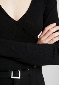 Even&Odd - BODYSUIT - Long sleeved top - black - 5