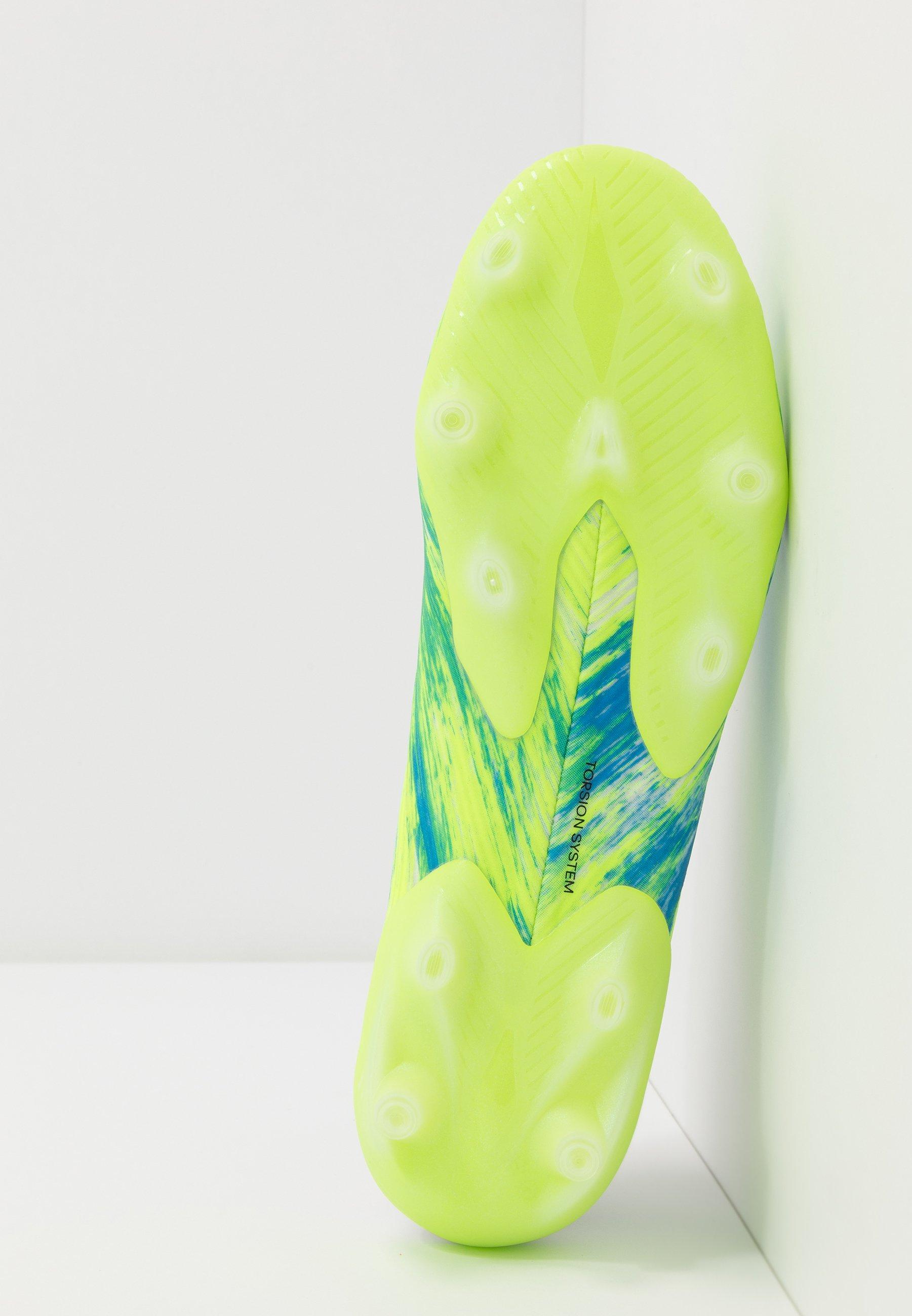 Vendita a basso prezzo Scarpe da uomo adidas Performance NEMEZIZ 19.1 FG Scarpe da calcetto con tacchetti footwear white/core black/signal green