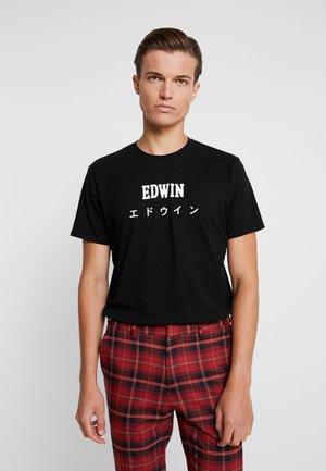 JAPAN - T-shirt imprimé - black