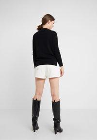 pure cashmere - MOCKNECK  - Jersey de punto - black - 2