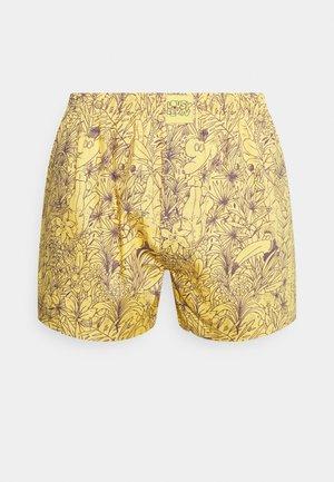 TROPICAL - Boxer shorts - yellow