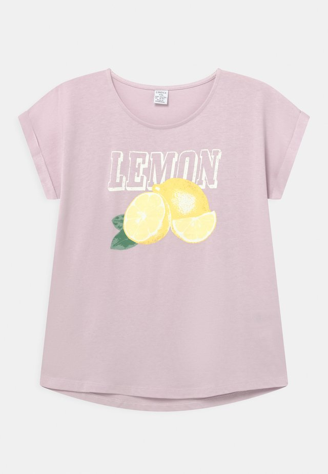LEMON - Print T-shirt - light lilac