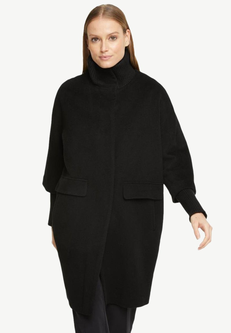 comma - Classic coat - black