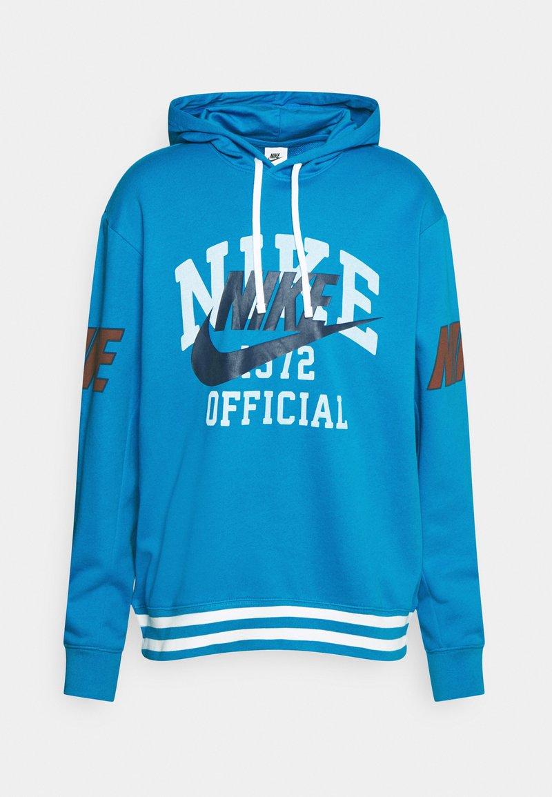 Nike Sportswear - TREND HOODIE - Felpa - photo blue
