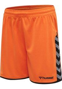 Hummel - HMLAUTHENTIC  - Sports shorts - tangerine - 2