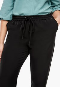 Triangle - REGULAR FIT - Trousers - black - 3