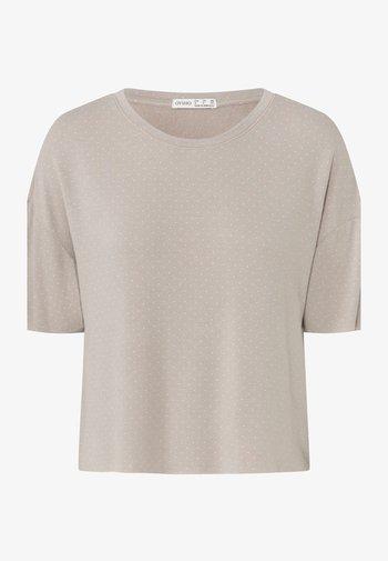 Pyjama top - beige
