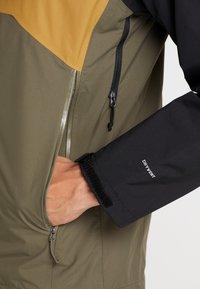 The North Face - MENS STRATOS JACKET - Kuoritakki - new taupe green/black/british khaki - 4