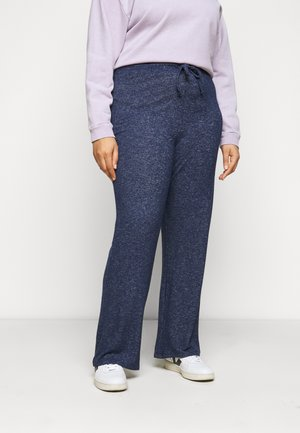 SOFT TOUCH PANT - Trousers - navy