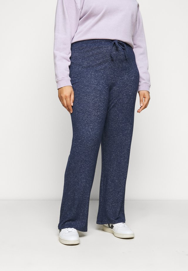 SOFT TOUCH PANT - Broek - navy