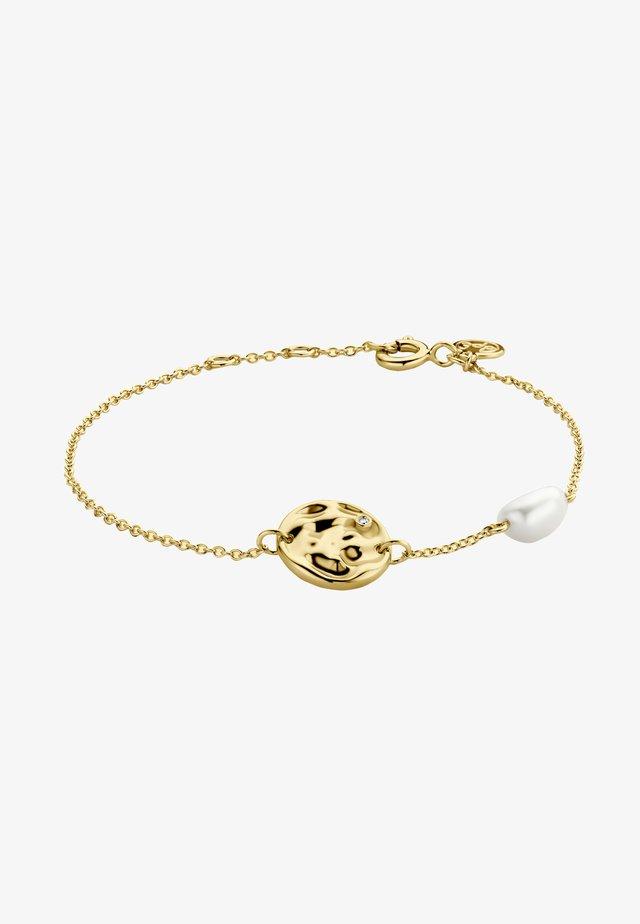 COCO PEARL DIAMOND - Bracelet - 18k yellow gold vermeil
