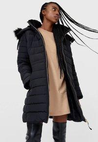 Stradivarius - Winter coat - black - 0