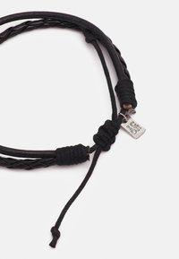 Icon Brand - VOLCANIC BRACELET COMBO 2 PACK - Náramek - black - 1