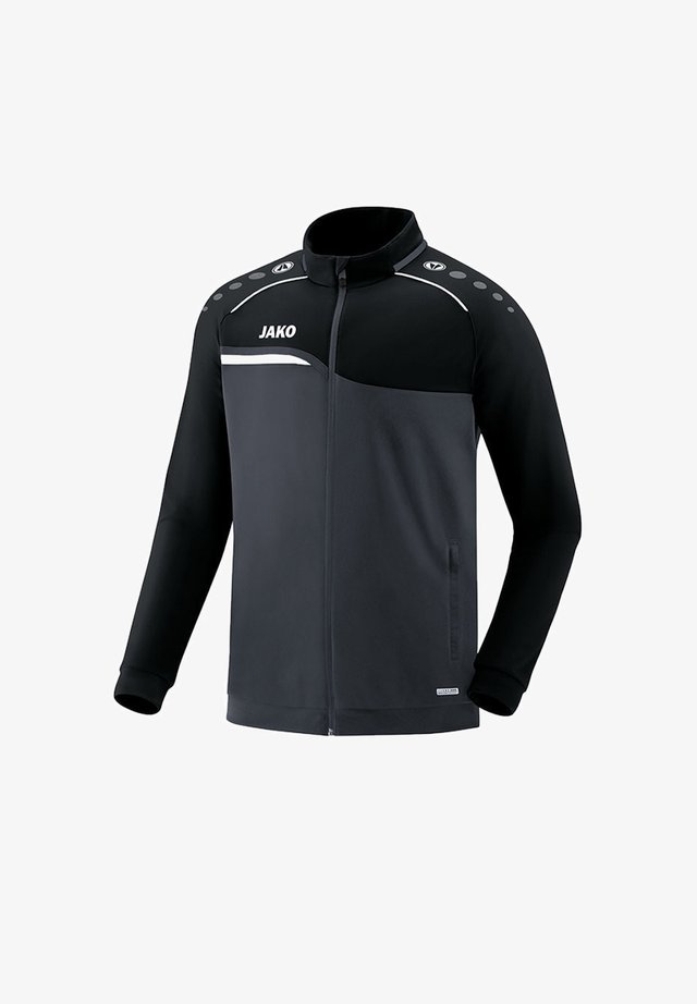 Training jacket - grauschwarz