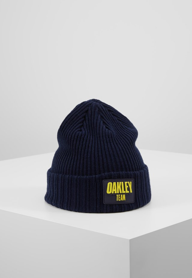 TEAM PATCH BEANIE - Czapka - dark blue