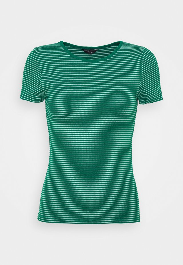 FITTED - T-shirt print - green
