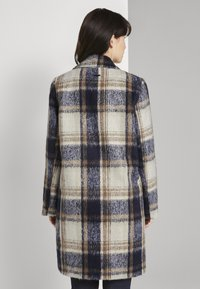 TOM TAILOR - EASY PLAID  - Classic coat - navy/sand - 2