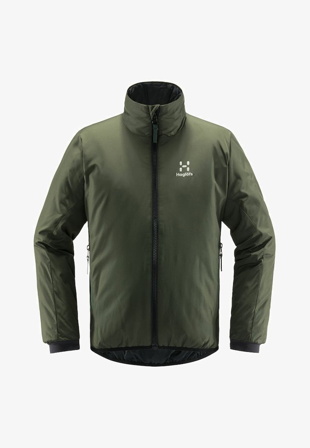 BARRIER JACKET  - Winter jacket - fjell green/true black