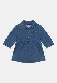 Tommy Hilfiger - BABY DRESS - Denim dress - blue denim - 0