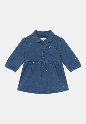 BABY DRESS - Denim dress - blue denim