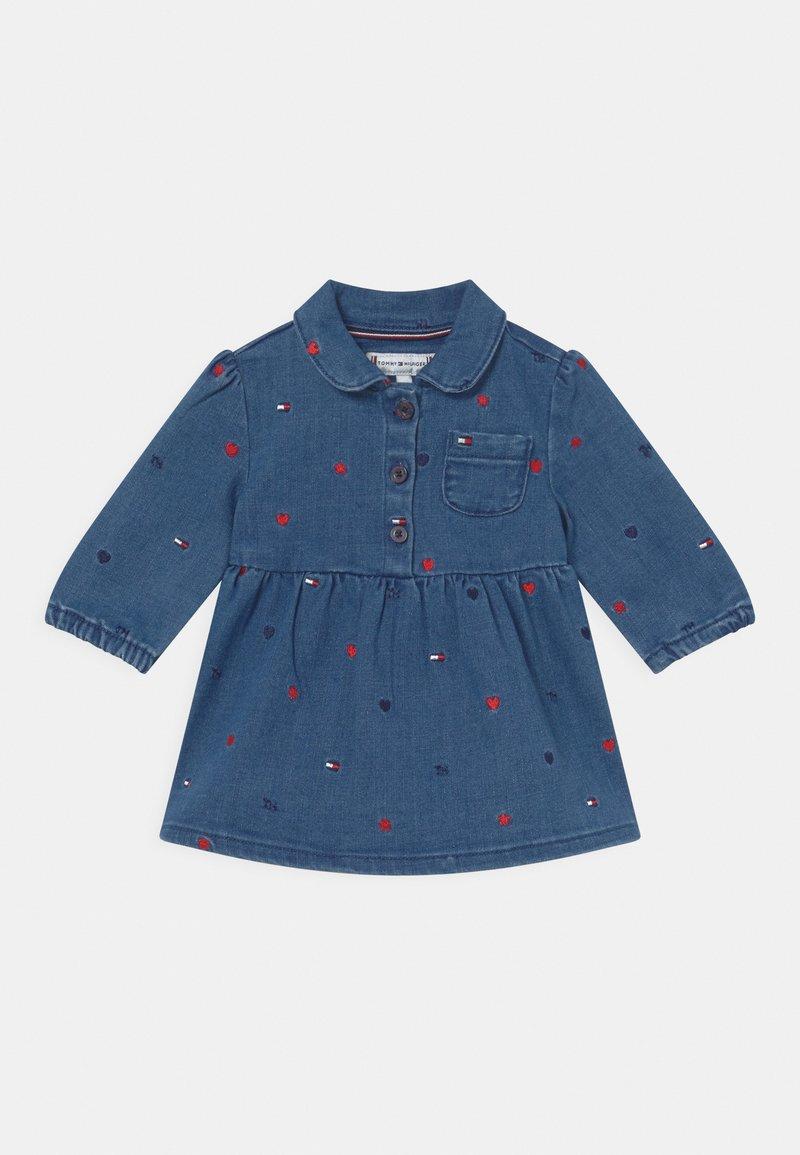 Tommy Hilfiger - BABY DRESS - Denim dress - blue denim