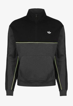 SWEATER MOD - Sweater - blk/grey/yellow
