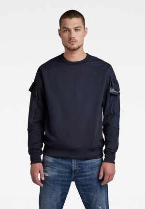 CONTAINER - Stickad tröja - mazarine blue