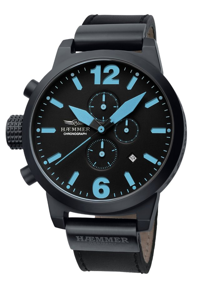 NEPTUN - Chronograph watch - black