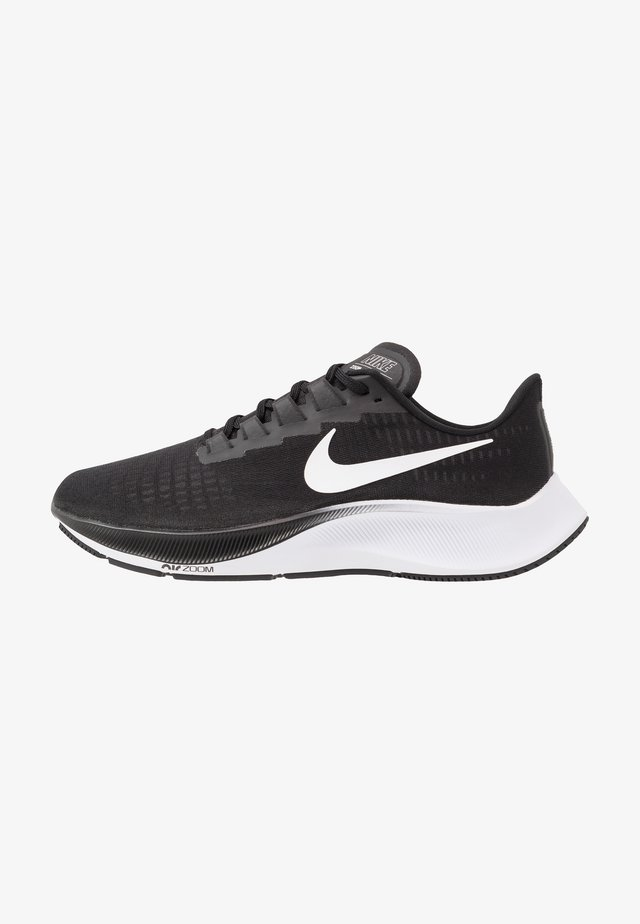 AIR ZOOM PEGASUS 37 - Neutral running shoes - black/white