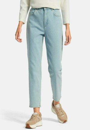 Straight leg jeans - bleached denim