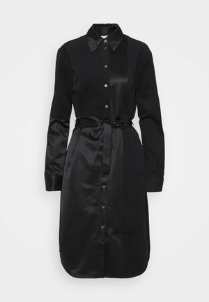 CHRISTIA - Robe chemise - black