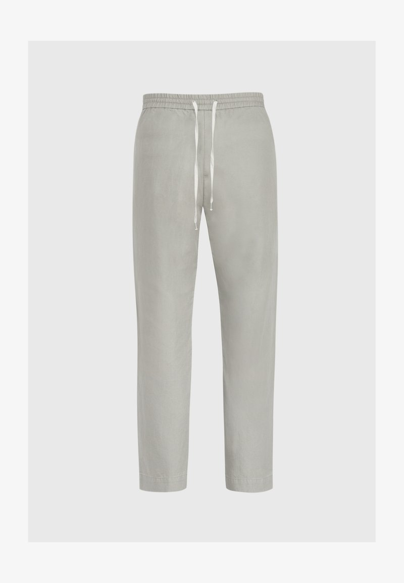 AllSaints - LUCKETT - Trousers - mottled grey
