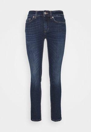 Džíny Straight Fit - bue denim