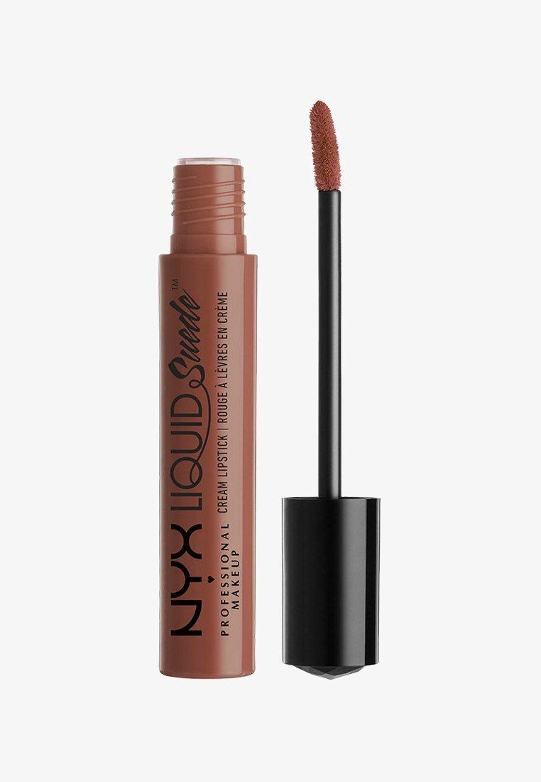Nyx Professional Makeup - LIQUID SUEDE CREME LIPSTICK - Liquid lipstick - 7 sandstorm