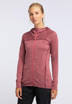 FOXY - Zip-up hoodie - red