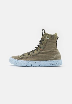 CHUCK TAYLOR ALL STAR CRATER - High-top trainers - yellow/carbon jasper/powder green