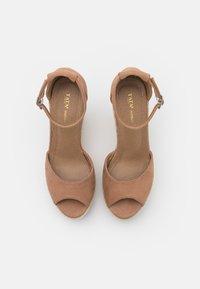 Tata Italia - Platform sandals - taupe - 5