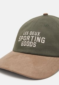 Les Deux - SPORTING GOODS DAD - Cappellino - lichen green/dark sand - 3