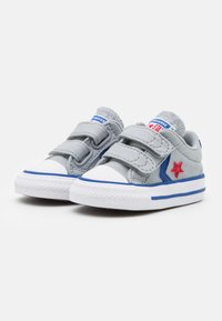 Converse - STAR PLAYER UNISEX - Sneakers laag - wolf grey/blue/enamel red - 1