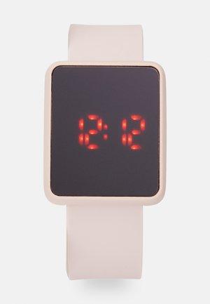 Digitálne hodinky - rose gold-coloured