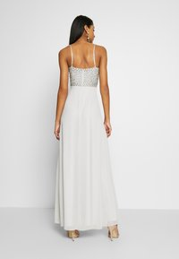 Lace & Beads - MARIELLE  - Occasion wear - light grey - 2