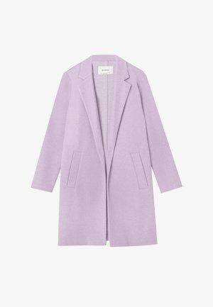 Krótki płaszcz - mauve