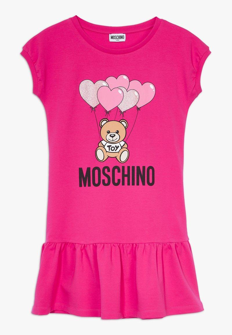 MOSCHINO - DRESS - Denní šaty - fucsia flower