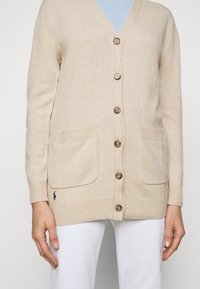 Polo Ralph Lauren - CARDIGAN LONG SLEEVE - Strickjacke - tallow cream - 5