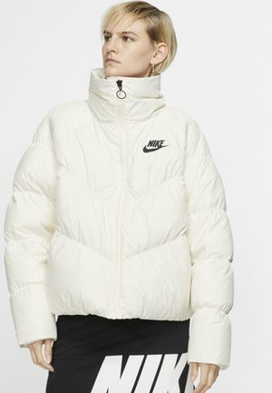 Winter jacket - off-white/black