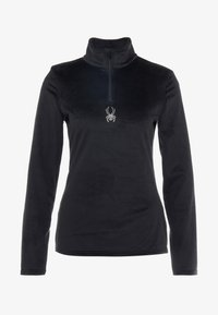 Spyder - SHIMMER BUG - Bluza z polaru - black - 3