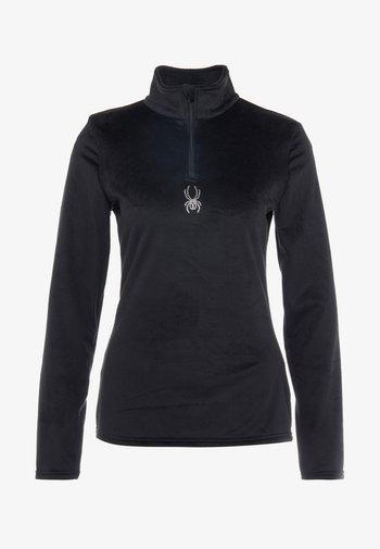 SHIMMER BUG - Fleece jumper - black